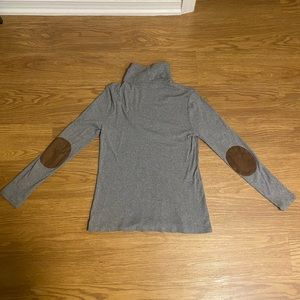 WOMENS Ralph Lauren grey turtleneck size LARGE